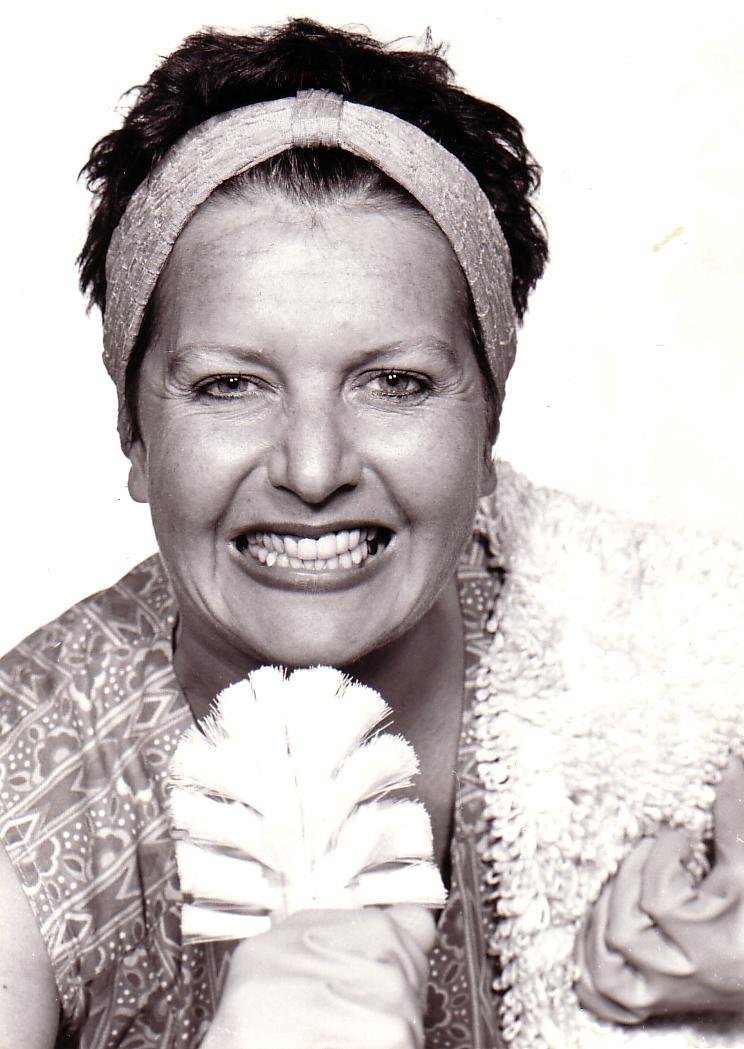 Foto: Bettina Koch als Krawallschachtel